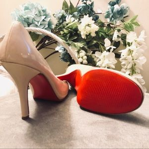 Nude Pumps w/ Red Bottoms (IMITATION CLs)